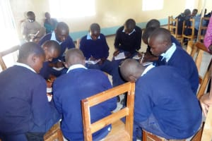 The Water Project: Bukhaywa Secondary School -