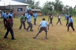 The Water Project: Ebukanga Secondary School -  Football After Class