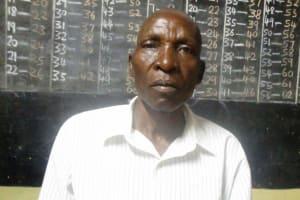 The Water Project: Emurembe Primary School -  Chairman Arthur Esiakhunye