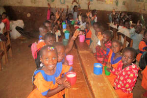 The Water Project: Essunza Primary School -  Ecd Children In Class
