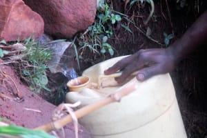 The Water Project: Emabungo Community, Bondeni Spring -  Bondeni Spring