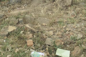 The Water Project: Ikonyero Secondary School -  Collapsed Latrines
