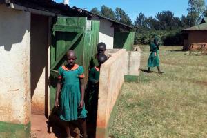 The Water Project: Kilingili Primary School -  Girls Latrines