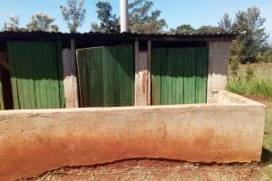 The Water Project: Kilingili Primary School -  Latrines