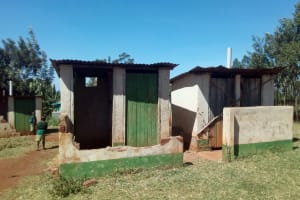 The Water Project: Kilingili Primary School -  Condemned Latrines