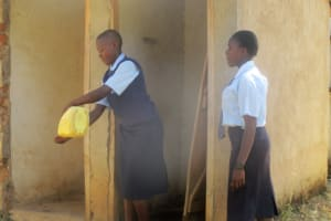 The Water Project: Ikonyero Secondary School -  Washing Hands