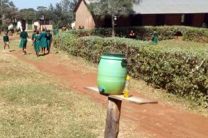 The Water Project: Kilingili Primary School -  Hand Washing Station