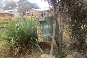 The Water Project: Ikonyero Secondary School -  Trash Can