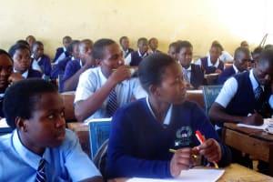 The Water Project: Ikonyero Secondary School -  Classroom