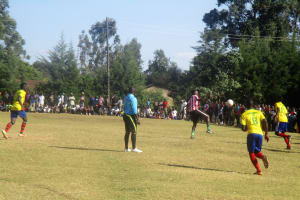 The Water Project: Friends Makuchi Secondary School -  Sports Field