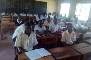 The Water Project: Bumira Secondary School -  Classroom