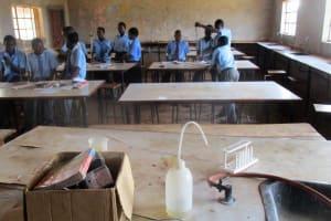 The Water Project: Ebukanga Secondary School -  Chemistry Class
