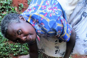 The Water Project: Kidinye Community, Wamwaka Spring -  Joyce Musera