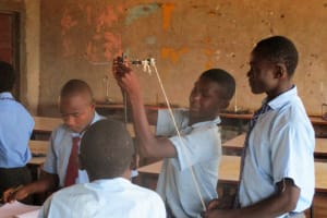 The Water Project: Ebukanga Secondary School -  Students In The Lab