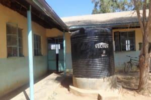 The Water Project: Malaha Primary School -  Liter Tank