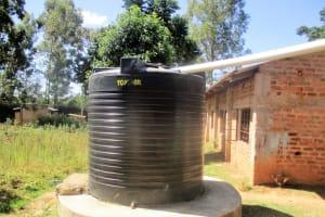The Water Project: Friends Makuchi Secondary School -  Water Tank