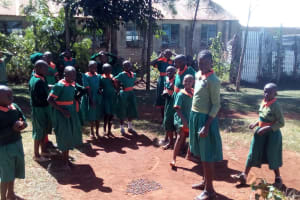 The Water Project: Kilingili Primary School -  Students Playing
