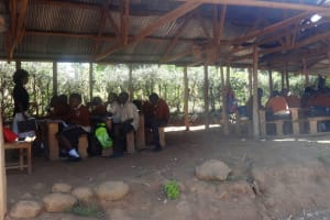 The Water Project: Compassion Primary School -  Class Outside