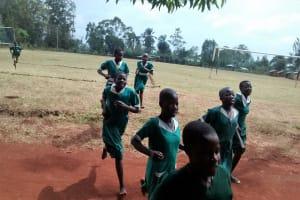 The Water Project: Ebukanga Primary School -  Practicing Athletics