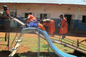 The Water Project: Essunza Primary School -  Playing During Break