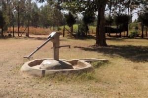 The Water Project: Malaha Primary School -  Broken Well