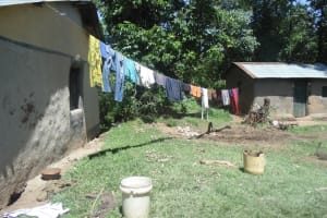 The Water Project: Mwinaya Community, Severe Spring -  Household