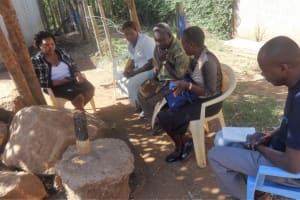 The Water Project: Compassion Primary School -  Meeting With School Board