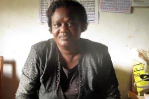 The Water Project: Ebukanga Primary School -  Mrs Emmy Sayo Orengo Headteacher