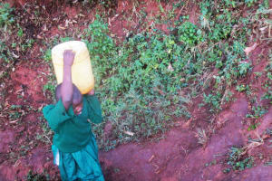The Water Project: Emurembe Primary School -  Fetching Water