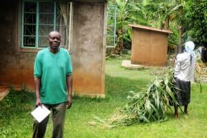 The Water Project: Emabungo Community, Bondeni Spring -  Mr David Nanjero