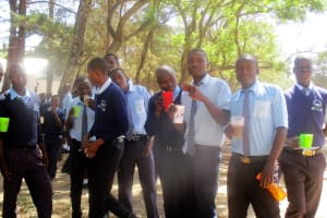 The Water Project: Ikonyero Secondary School -  Tea