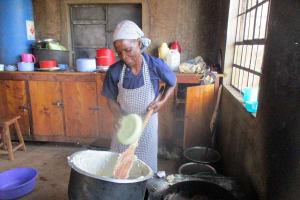The Water Project: Ebukanga Secondary School -  Mrs Damar Makutwa Cook