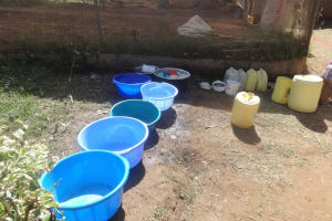 The Water Project: Compassion Primary School -  Water Storage