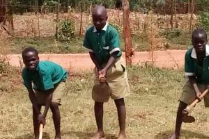 The Water Project: Ebukanga Primary School -  Working
