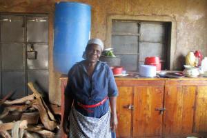 The Water Project: Ebukanga Secondary School -  Mrs Grace Amukhoye The Lead Cook