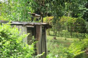 The Water Project: Emabungo Community, Bondeni Spring -  Latrines