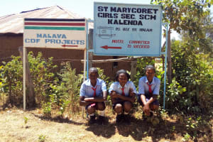 The Water Project: St. Marygoret Girls Secondary School -  School Entrance