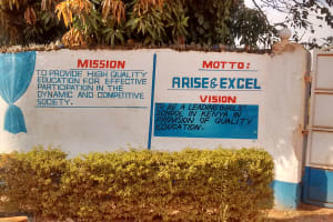 The Water Project: Matende Girls High School -  School Sign