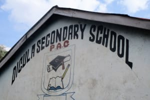 The Water Project: Digula Secondary School -  School Name