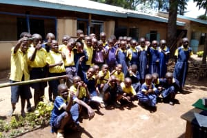 The Water Project: Kakubudu Primary School -  Students Posing For A Picture