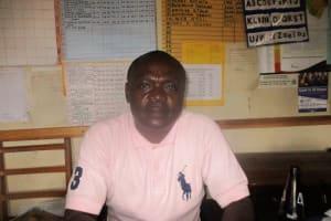 The Water Project: Essaba Primary School -  Deputy Headteacher John Amukowa Ochonya