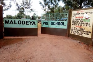 The Water Project: Walodeya Primary School -  School Entrance