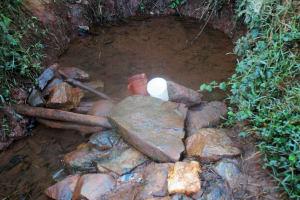 The Water Project: Eluhobe Community, Amadi Spring -  Amadi Spring