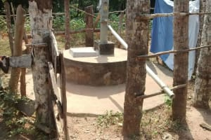 The Water Project: Ponka Village -  Dry Well