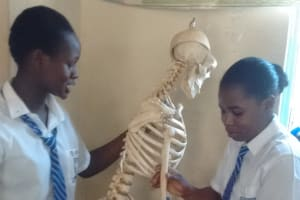 The Water Project: Matende Girls High School -  Biology Lesson