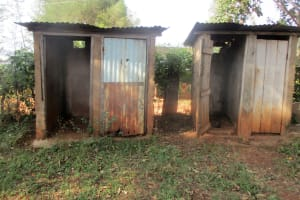 The Water Project: Digula Secondary School -  Latrines