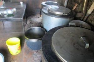 The Water Project: Kapchemoywo Girls Secondary School -  Kitchen