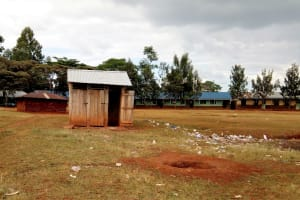 The Water Project: Walodeya Primary School -  Trash