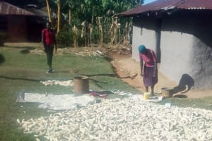 The Water Project: Bumavi Community, Shoso Mwoga Spring -  Working