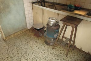 The Water Project: Tintafor, Police Barracks C-Line Community -  Inside Kitching